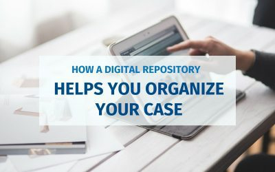How A Digital Repository Helps You Organize Your Case