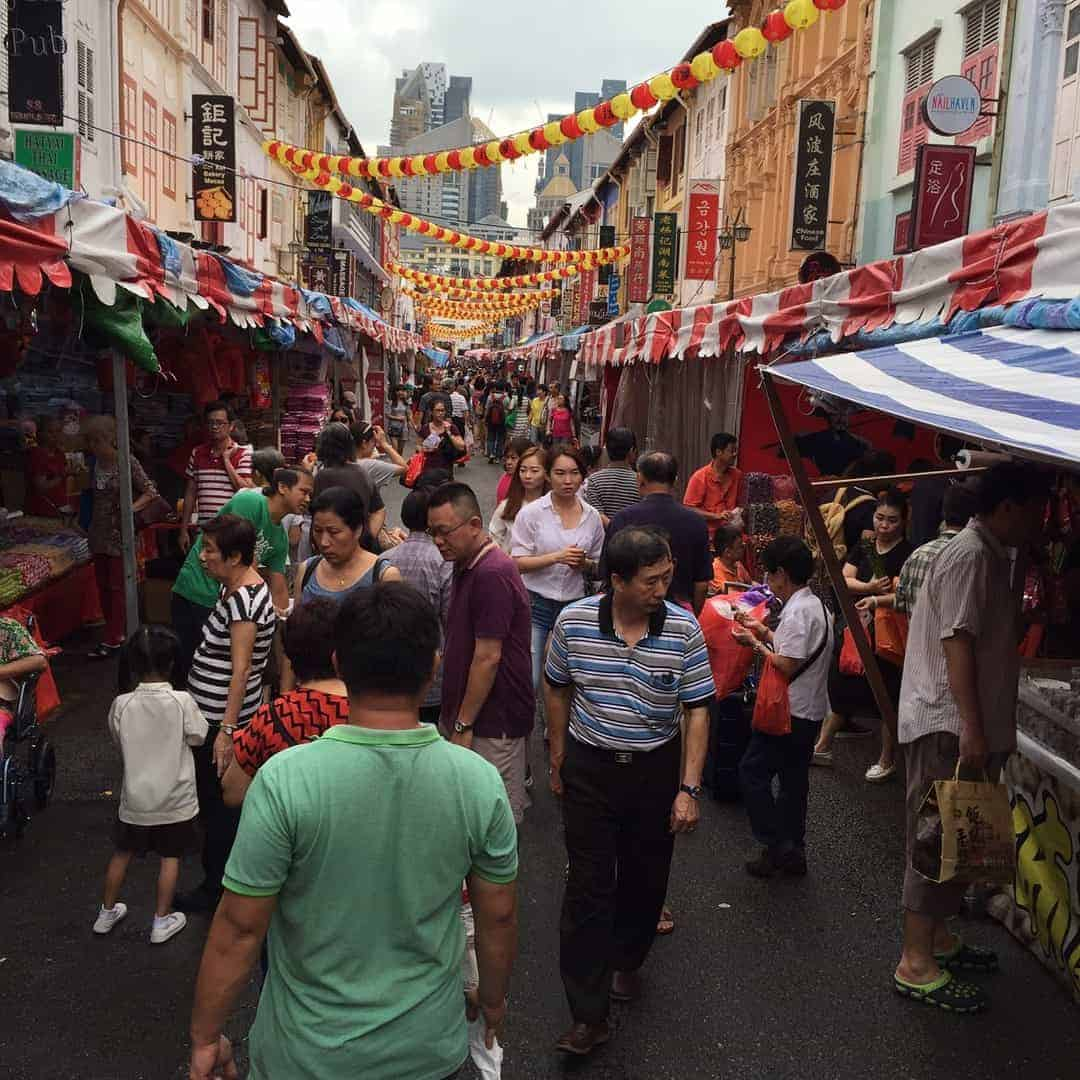 Singapore Market. Image from Neal Price.