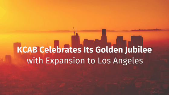 KCAB Celebrates Golden Jubiliee