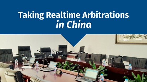 Taking Realtime Arbitrations in China
