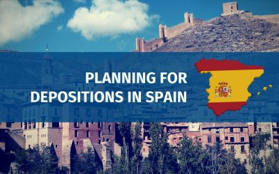 Planning for Depositions in Spain (Updated 2017)