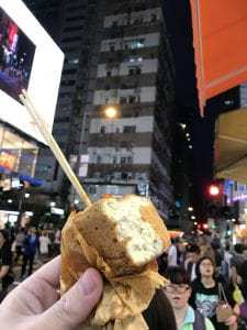Stinky Tofu in Hong Kong - by Trevor Price