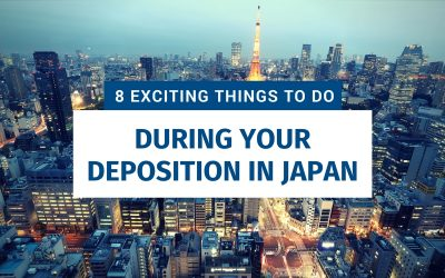 8 Exciting Things To Do During Your Deposition In Japan