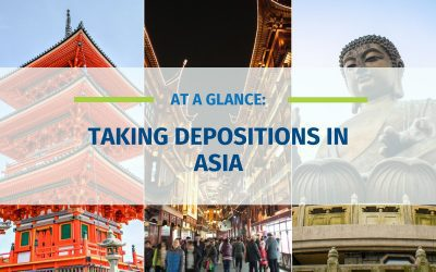 At A Glance: Taking Depositions in Asia