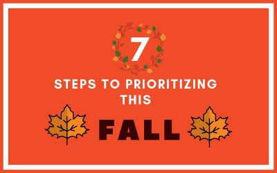 7 Tips to Help You Get Organized This Fall [INFOGRAPHIC]