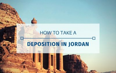 How To Take A Deposition In Jordan
