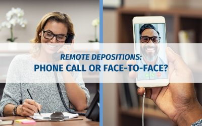 Remote Depositions: Phone Call or Face-to-Face?