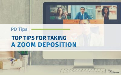 Top Tips for a Zoom Remote Deposition