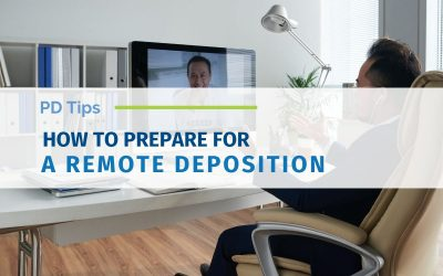 How To Prepare For A Remote Deposition